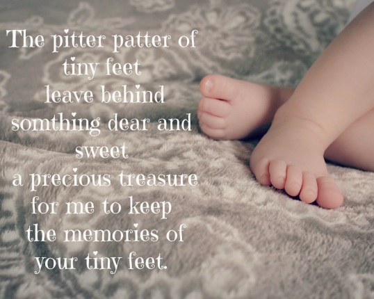 Image result for listen to the pitter patter of baby feet