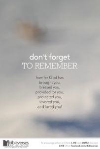 Forget Not ~ CHRISTian poetry by deborah ann