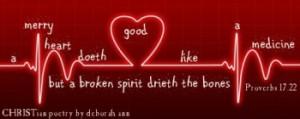 The Merry Heart ~ CHRISTian poetry by deborah ann