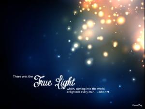 The True Light ~ CHRISTian poetry by deborah ann
