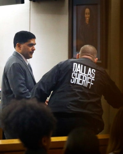 .jpg photo of man convicted of killing Sherin Mathews