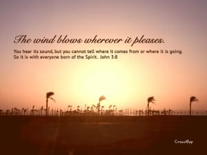 The Wind of God ~ CHRISTian poetry by deborah ann
